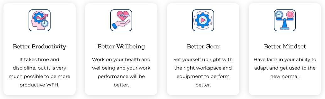 AllAboutWFH Brand Values